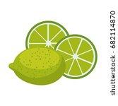 lemon acid fruit icon | Shutterstock .eps vector #682114870