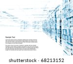 conceptual interplay of... | Shutterstock . vector #68213152