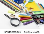 stationery  | Shutterstock . vector #682172626