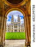 all souls college  a... | Shutterstock . vector #682199788