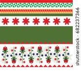 art boho pattern. ethnic... | Shutterstock .eps vector #682237366