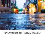 macro closeup of colorful ... | Shutterstock . vector #682240180
