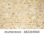 Stone And Concrete Tuscan Wall...