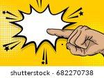 pop art comic text cartoon...   Shutterstock .eps vector #682270738