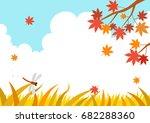 Autumn Landscape With Maple...