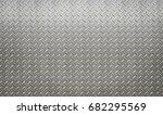 diamond steel  pattern  metal ... | Shutterstock . vector #682295569