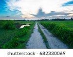 beautiful way | Shutterstock . vector #682330069