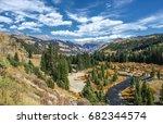 overlook of the san miguel ... | Shutterstock . vector #682344574