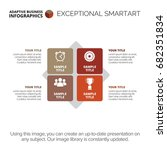 diagram infographic template | Shutterstock .eps vector #682351834