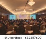 the vintage blur image... | Shutterstock . vector #682357600