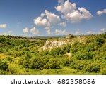 beautiful summer landscape   Shutterstock . vector #682358086