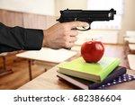 Man With Gun In Classroom....
