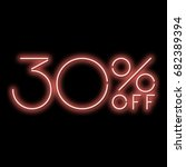 neon sign 30  discount. a red...