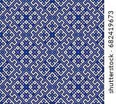 ethnic geometric pattern ...   Shutterstock .eps vector #682419673