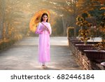portrait of vietnamese girl... | Shutterstock . vector #682446184