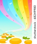beautiful background from... | Shutterstock . vector #68249980
