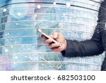 digital transformation of... | Shutterstock . vector #682503100
