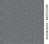 hand spinners seamless pattern. ... | Shutterstock .eps vector #682512160