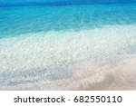 detail of sardinian sea with... | Shutterstock . vector #682550110