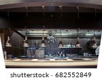professional kitchen   view... | Shutterstock . vector #682552849