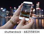 voice recognition   speech... | Shutterstock . vector #682558534