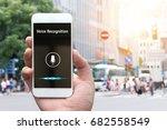 voice recognition   speech... | Shutterstock . vector #682558549