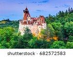 brasov  transylvania. romania.... | Shutterstock . vector #682572583