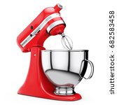 Red Kitchen Stand Food Mixer O...