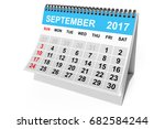 2017 Year Calendar. September...