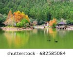 mingchi forest recreation area... | Shutterstock . vector #682585084
