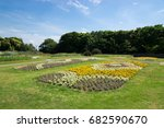 afternoon in the park | Shutterstock . vector #682590670