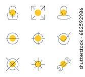 vector illustration of 9...