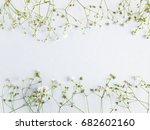 flower pattern of wildflowers....   Shutterstock . vector #682602160