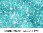 water surface abstract... | Shutterstock .eps vector #682611199