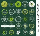 Organic Food And Drink Labels...