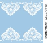 template for wedding ... | Shutterstock .eps vector #682670440