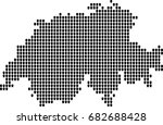 map of russia | Shutterstock .eps vector #682688428
