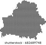 map of belarus  | Shutterstock .eps vector #682689748