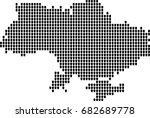 map of ukraine | Shutterstock .eps vector #682689778
