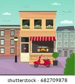 vector flat illustration of... | Shutterstock .eps vector #682709878