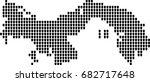 map of panama | Shutterstock .eps vector #682717648