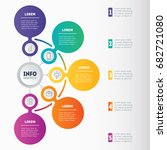 business presentation or... | Shutterstock .eps vector #682721080