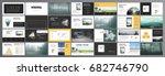 original presentation... | Shutterstock .eps vector #682746790