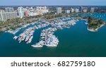 marina yachts docked downtown...