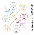 infographic design template... | Shutterstock .eps vector #682765399