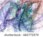 geometric low polygonal... | Shutterstock .eps vector #682773574