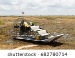 Small photo of A typical airboat used for ecotourism in Everglades National Park