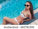 beautiful young woman in...   Shutterstock . vector #682781500