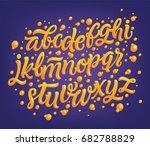 magic font  vector illustration.... | Shutterstock .eps vector #682788829