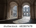 Inner Arches Of Historical...